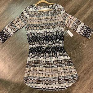 Drawstring dress. Velvet by Graham & Spencer.